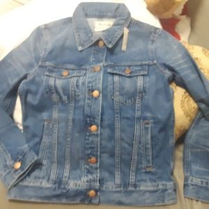 New Madewell denim jackets